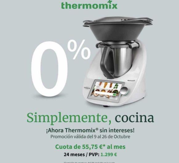 Thermomix® sin intereses octubre 2020