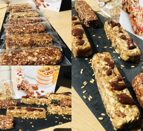 BARRITAS DE CEREALES CON Thermomix®
