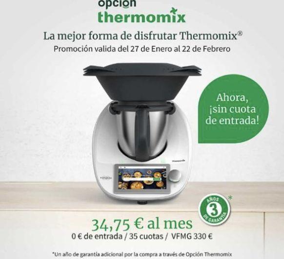 COMPRA Thermomix® CON UNA CUOTA MUY BAJA
