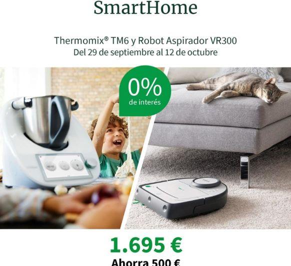 0% Thermomix® TM6 Y ROBOT ASPIRADOR VR300