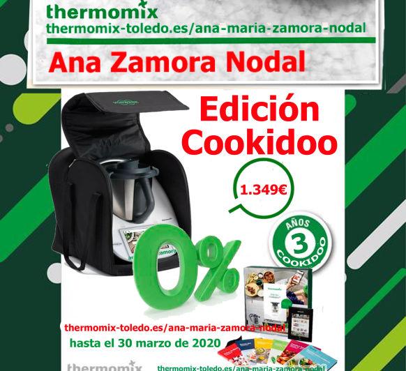 Thermomix® TM6 sin intereses y 3 años de cookidoo.