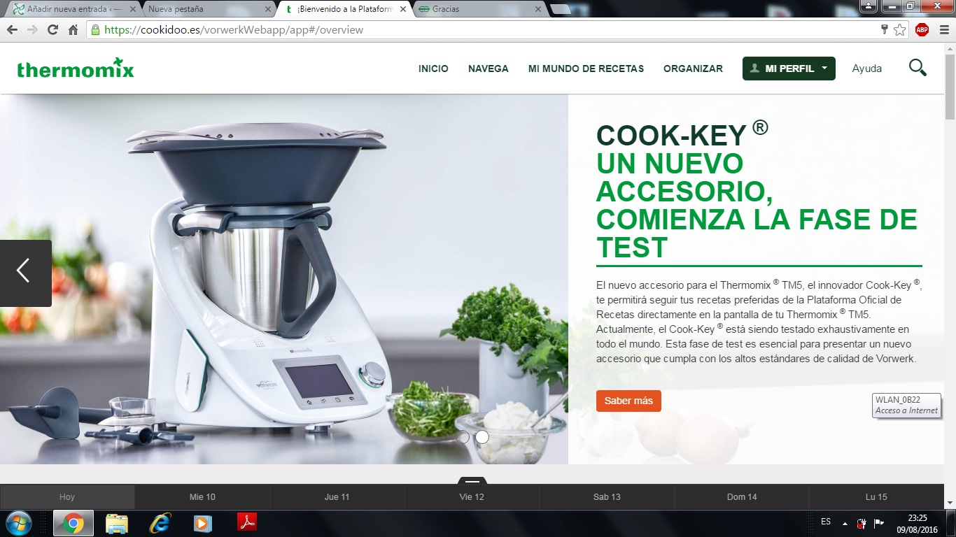 NUEVA PLATAFORMA DIGITAL Thermomix®