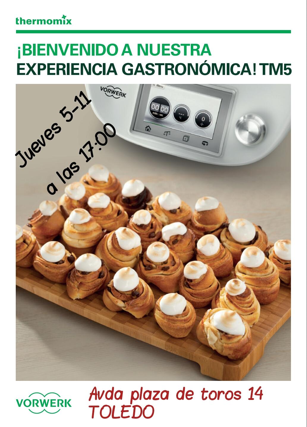 FINALIZADO - NUEVA CLASE DE COCINA EN TOLEDO PARA NUEVOS CLIENTES DE Thermomix®