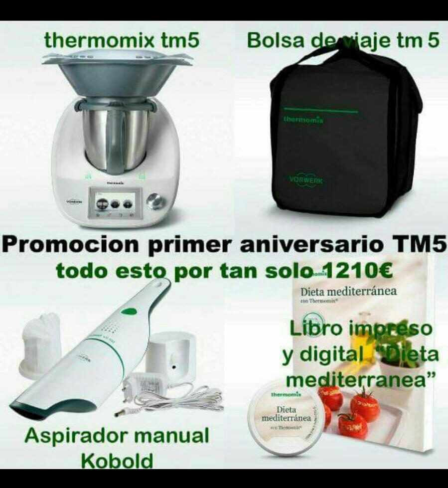 FINALIZADO - EDICIÓN PRIMER ANIVERSARIO Thermomix® TM5. NUEVA OPORTUNIDAD!!!