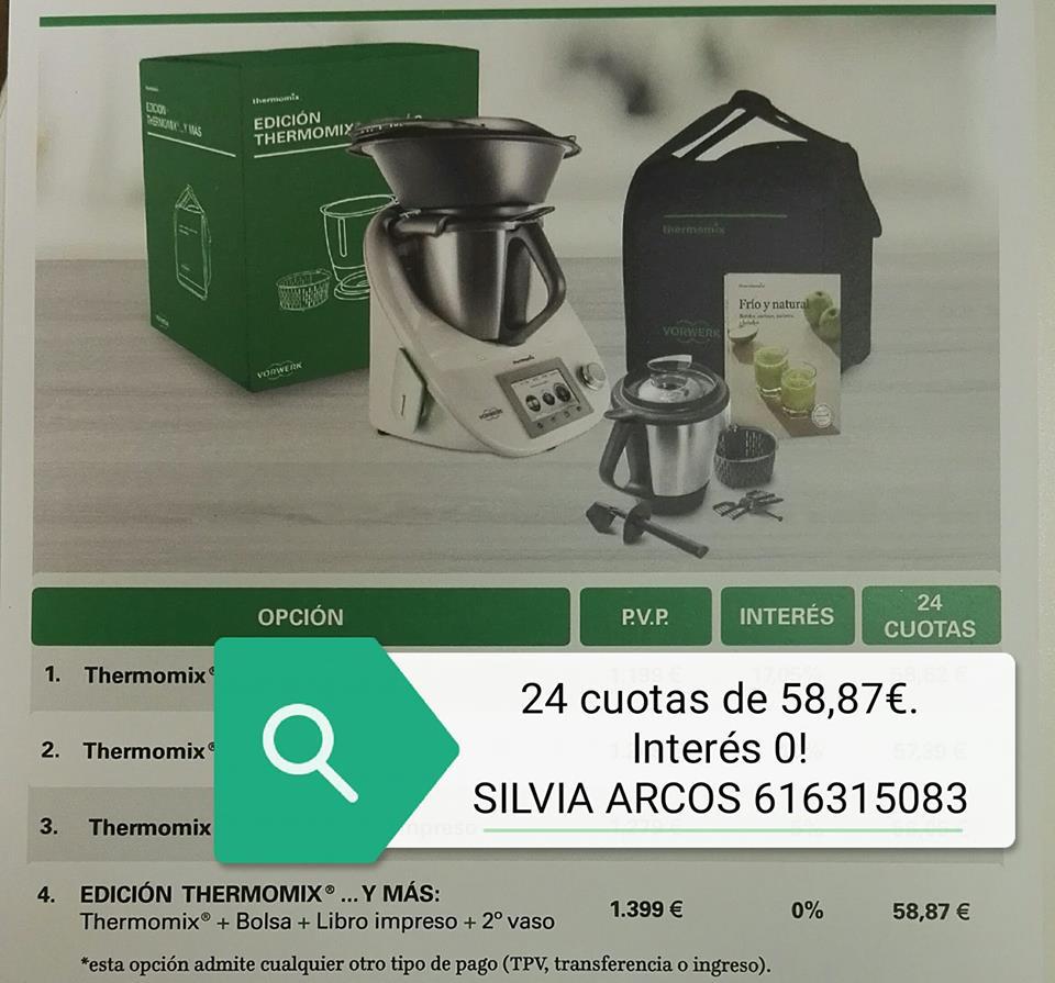 Thermomix® Y MAS... 0% INTERES, ES TU MOMENTO!