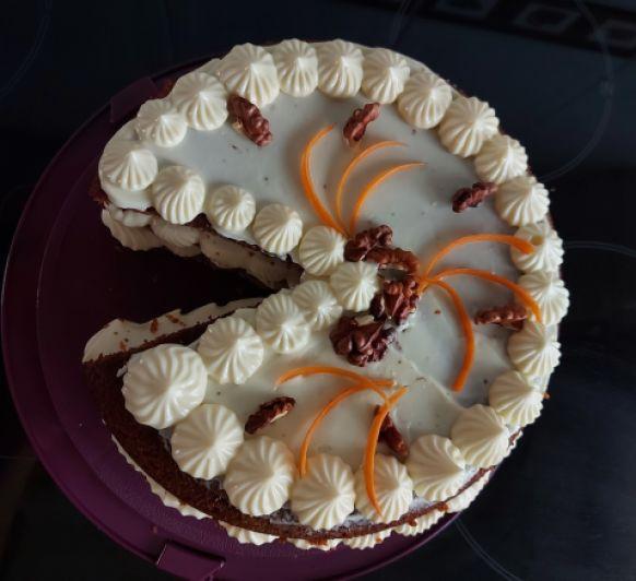 TARTA DE ZANAHORIA - CARROT CAKE con Thermomix® TOLEDO