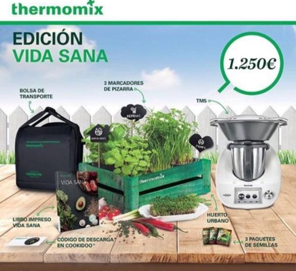 Thermomix® ''VIDA SANA'' Y UN FANTÁSTICO HUERTO URBANO