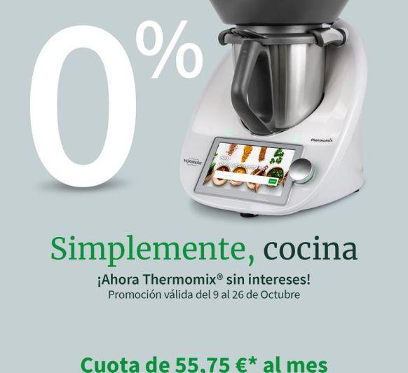 Thermomix® Promocion 0% AMPLIACION!