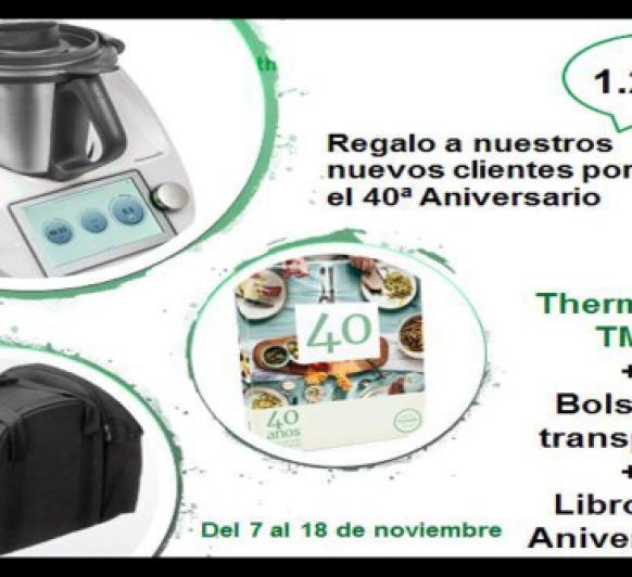 Thermomix® TM Promoción regalo 40 Aniversario