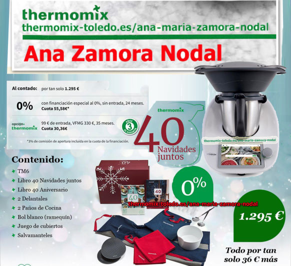 Thermomix® sin intereses para Navidad y Black Friday