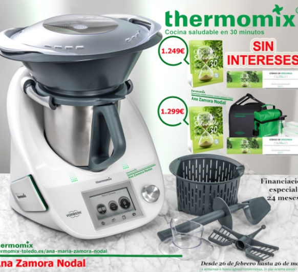 Blogs de thermomix en toledo blogosfera thermomix for Cocina saludable en 30 minutos thermomix