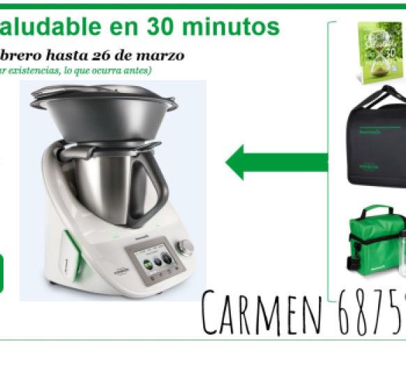 NUEVA EDICIÓN DE Thermomix® : ''COCINA SALUDABLE EN 30 MINUTOS''