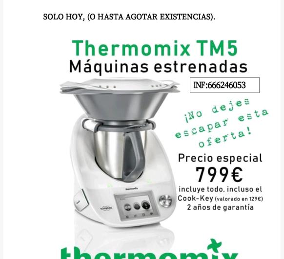 Thermomix® TM5 799
